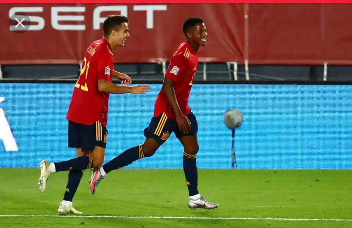 Watch: African-born Ansu Fati's magnificent goal which broke a 95-year record for Spain