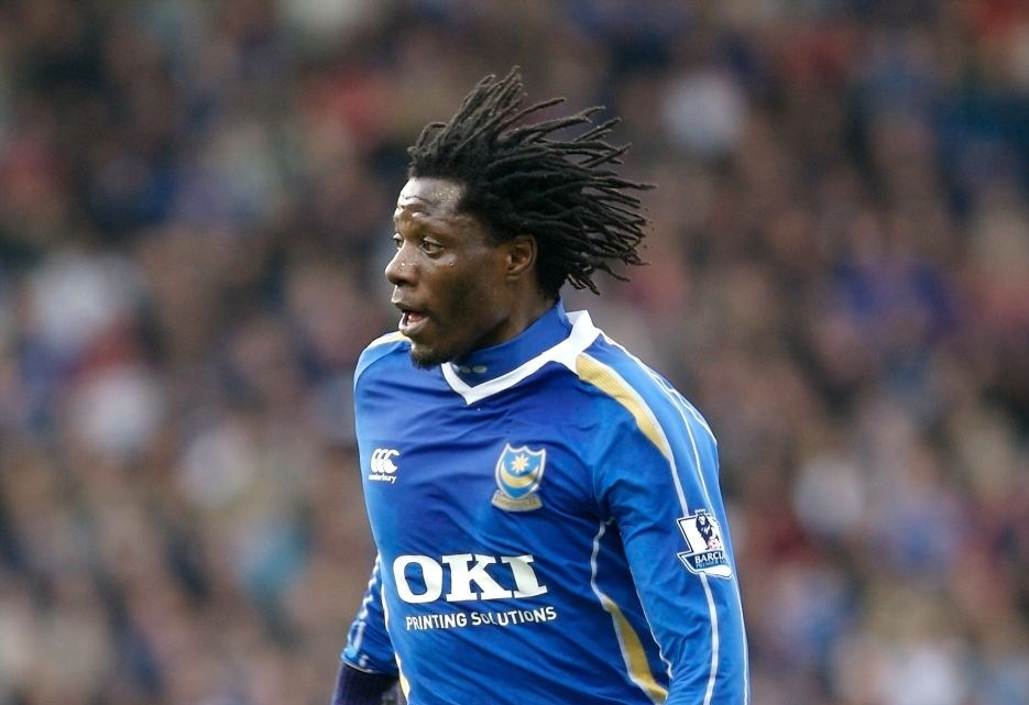 Benjani returns to work at Portsmouth