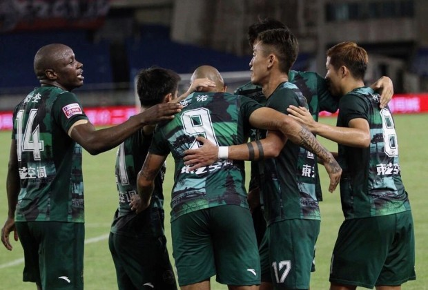 Mushekwi on target for Zhejiang Greentown