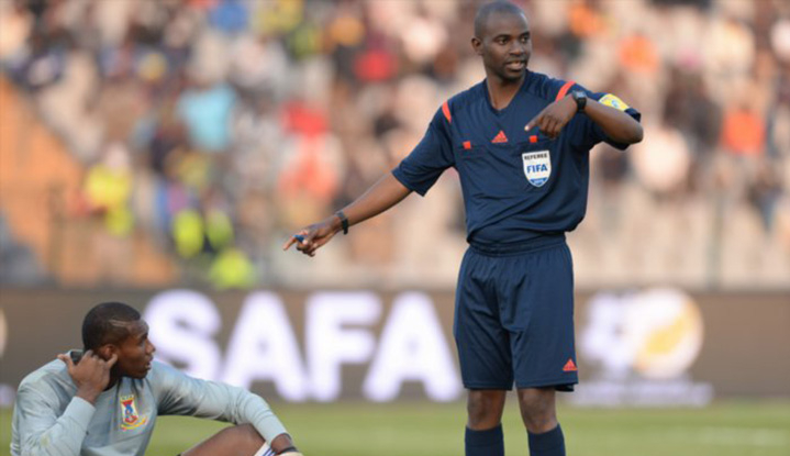 Three Zim officials on duty during November's Afcon Qualifiers