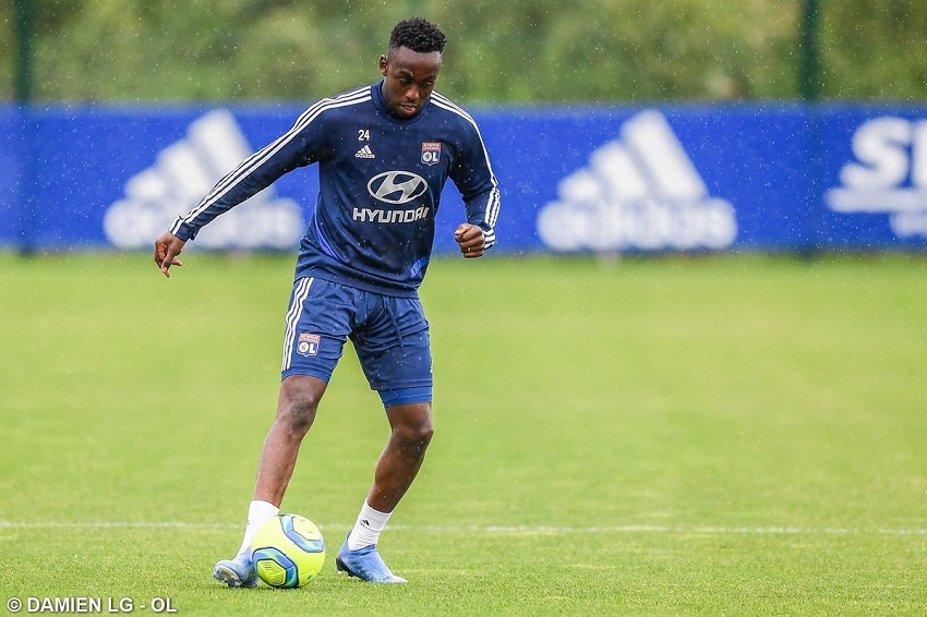 Kadewere included in Lyon squad for Spain camp