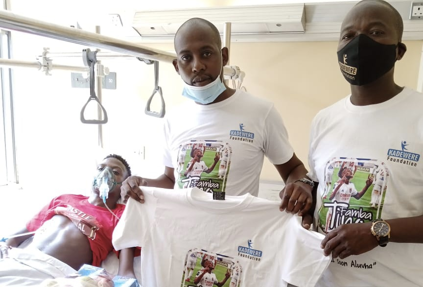 Kadewere Foundation members visit bedridden Aluvah