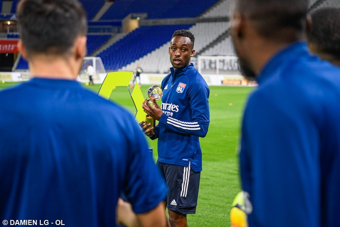 Kadewere makes 4th consecutive start for Olympique Lyon