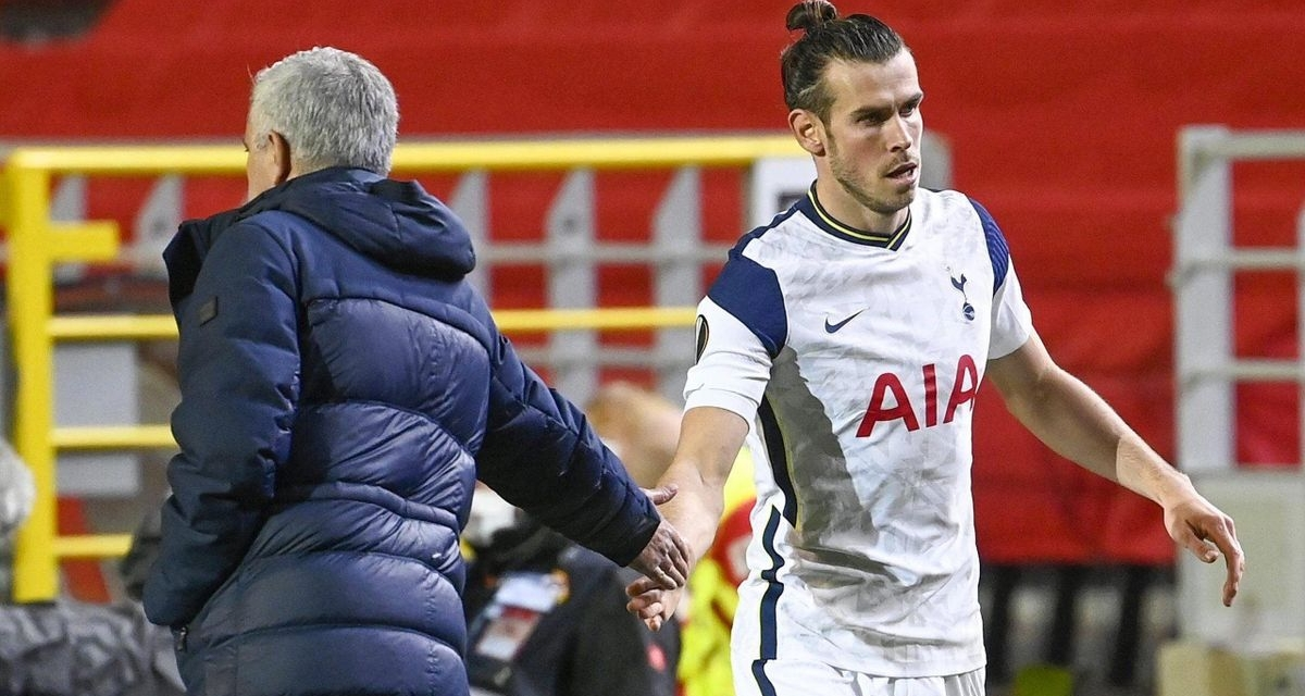 Mourinho takes swipe at Real Madrid after Bale's first goal at Spurs