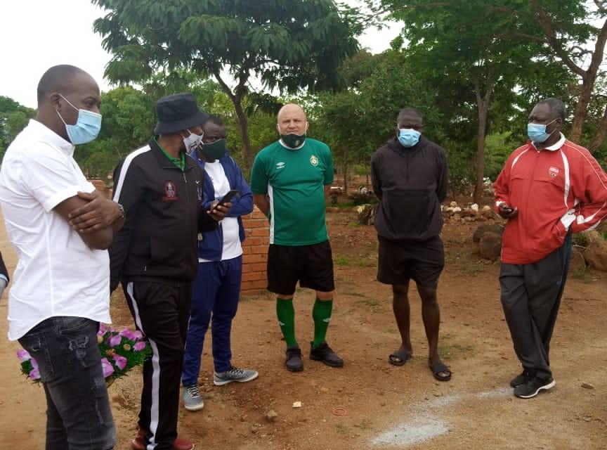 Warriors technical team commiserate with Munyaka family over broadcaster's death