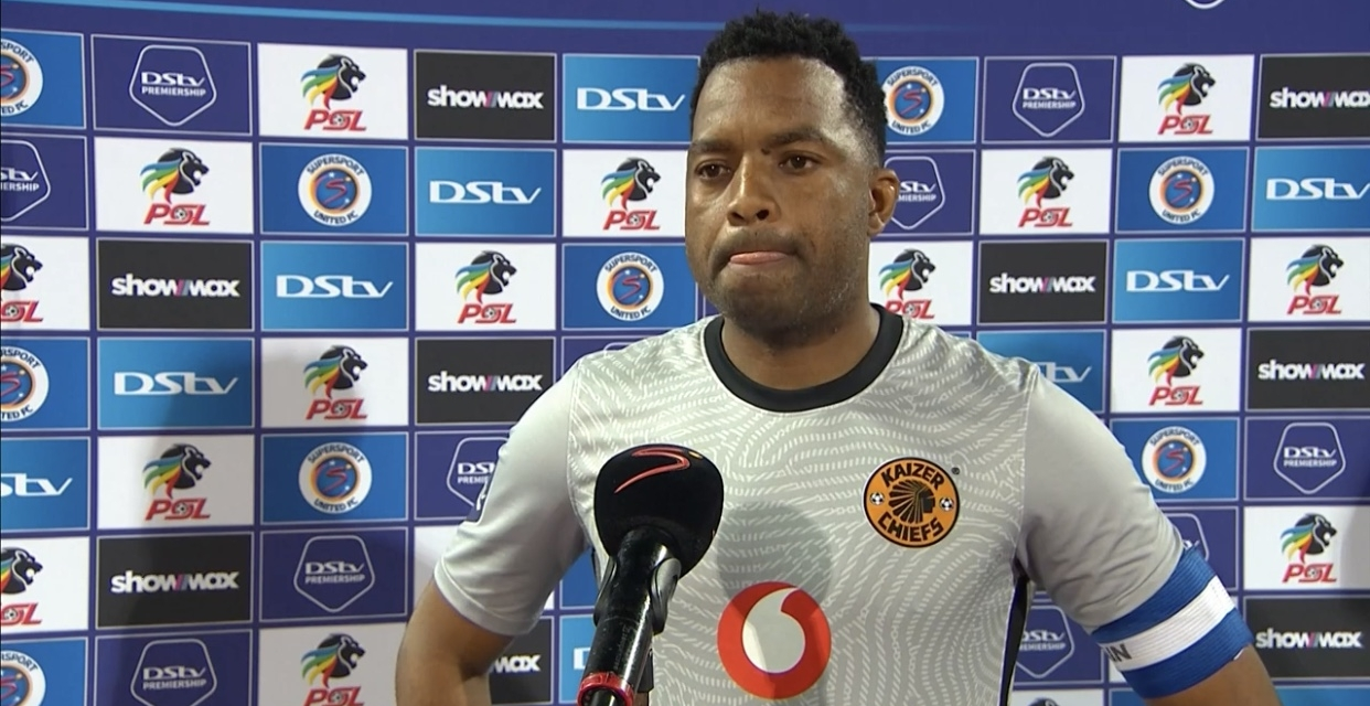 Dejected Khune reacts to costly blunder in defeat to SuperSport United