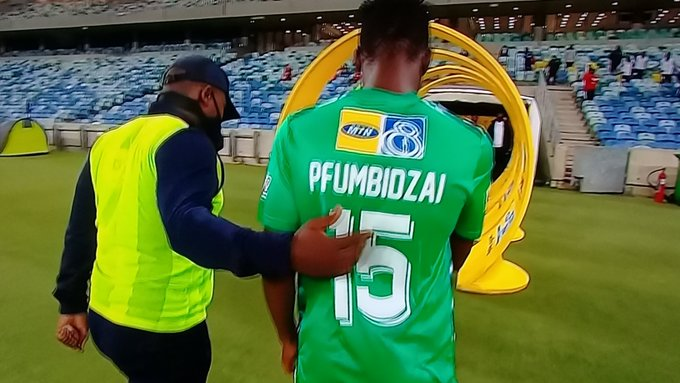 Pfumbidzai sees red as Pirates beat Celtic in MTN8 final