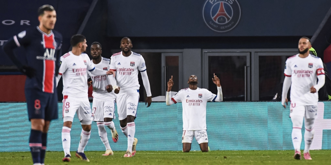 Clinical Kadewere fires OL past PSG