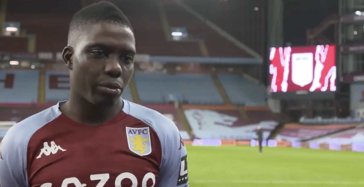 Nakamba reacts to first start in the PL this season