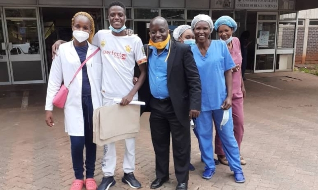 Aluvha discharged from hospital