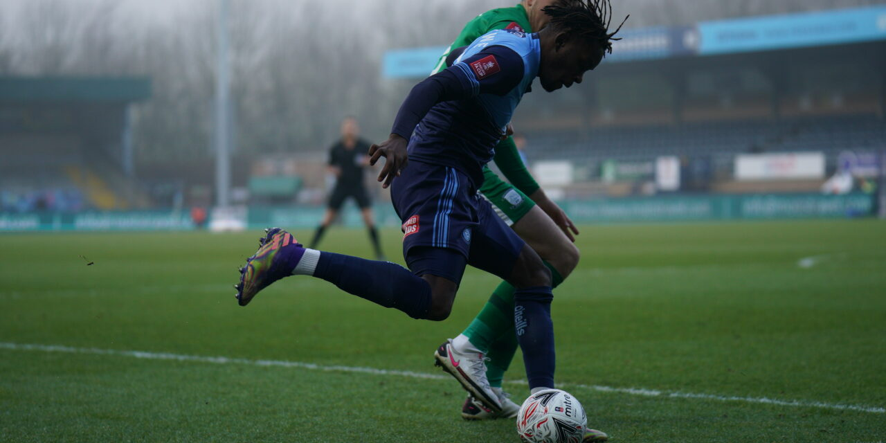 Video: Muskwe registers an assist on Wycombe debut