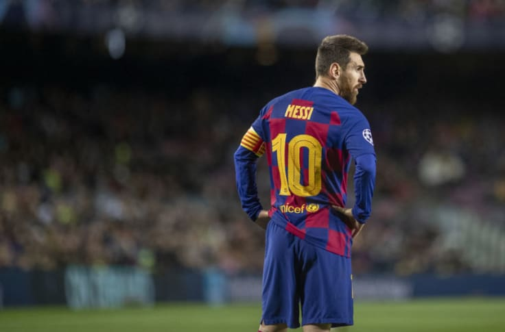 Koeman defends Messi after red card in cup final