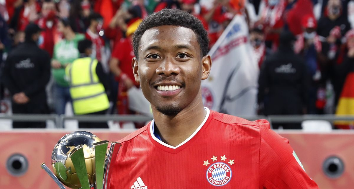 David Alaba confirms he will leave Bayern at the end of season