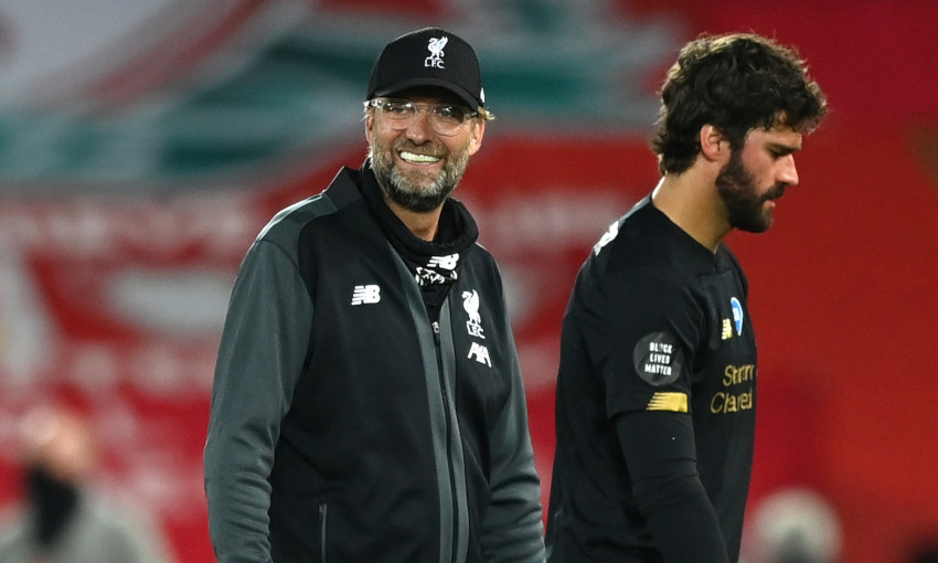 Klopp reacts to Alisson blunders in Man City defeat