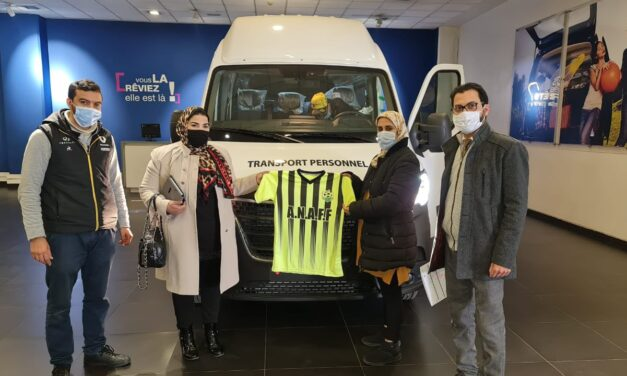 Moroccan FA hands out 16 minibuses to top-flight women teams