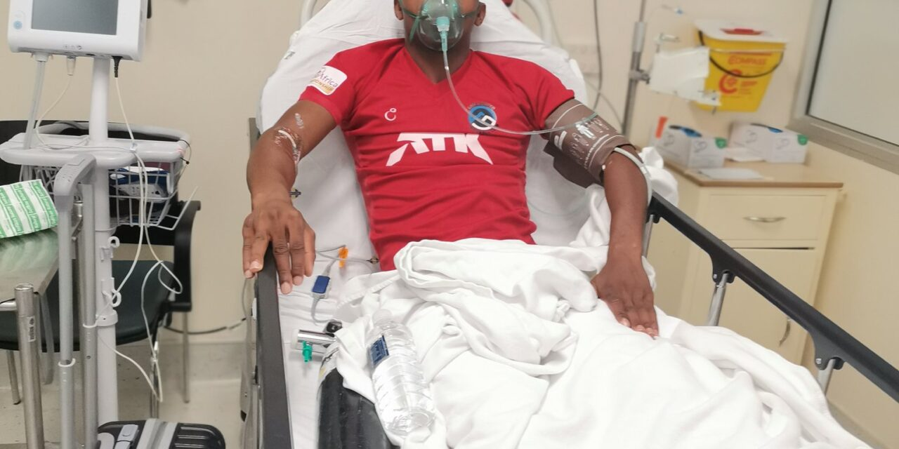 Gabriel Nyoni's career on the line following horror injury