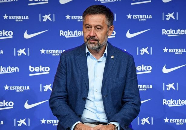 Ex-Barca president Josep Bartomeu arrested after police raid at Camp Nou
