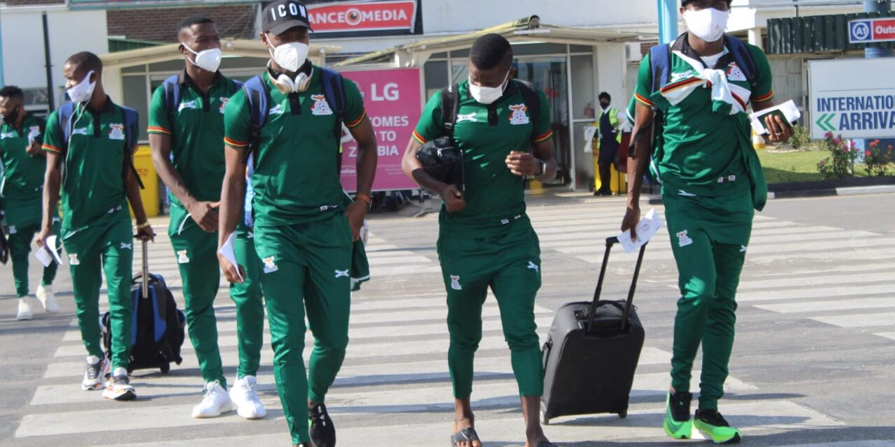 Zambia national team expected to arrive in Harare this evening