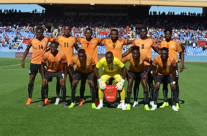 Zambia squad to travel to Zimbabwe
