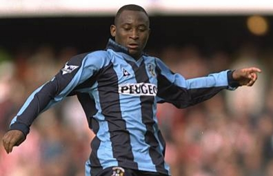 OTD in 1997: Peter Ndovu helped Coventry to a crucial come-from behind draw at Southampton