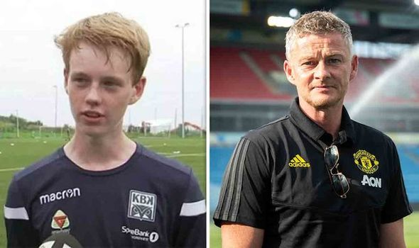 Solskjaer's son embroiled in dad's row with Mourinho