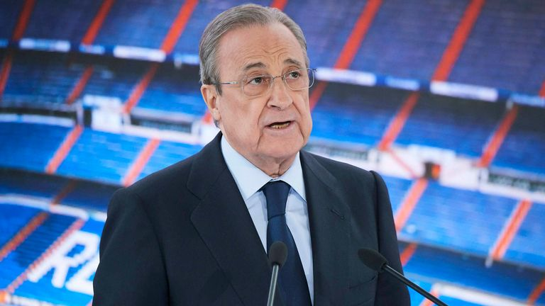 Florentino Perez explains why they have set up a new European Super League
