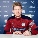 De Bruyne signs new contract with Manchester City