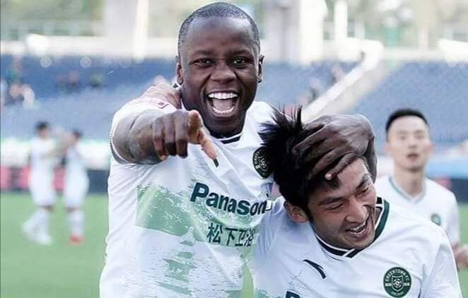Mushekwi hits first hattrick of season to extend lead in golden boot race in China