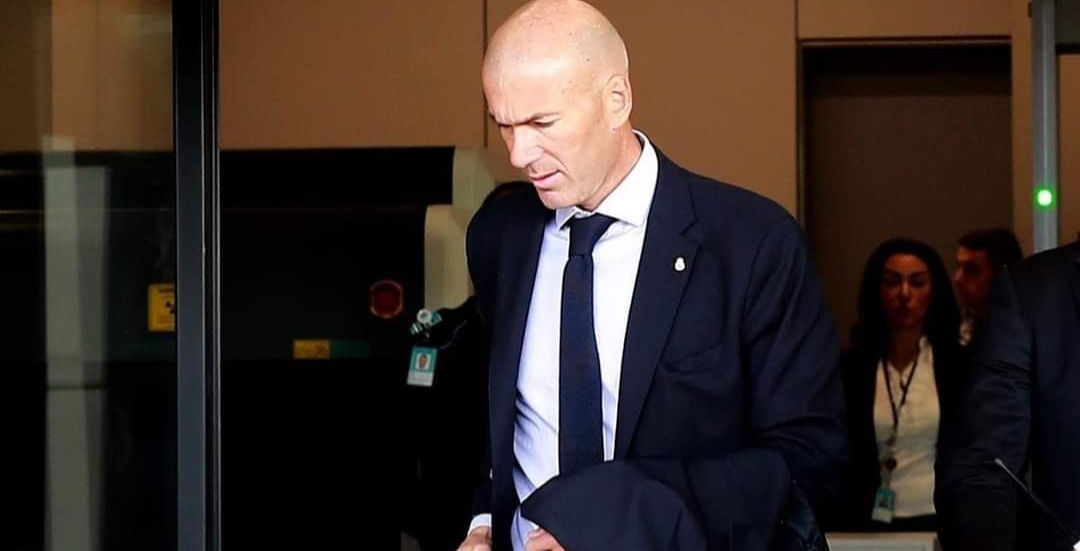 Official: Zidane leaves Real Madrid