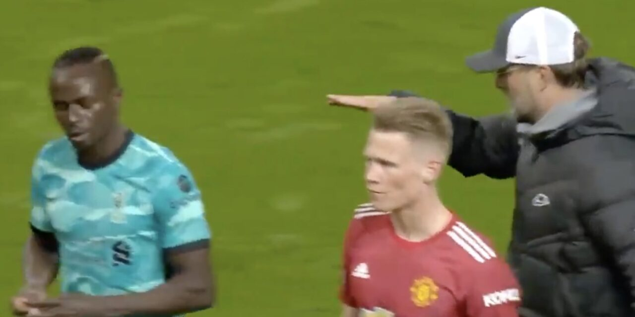 Klopp explains why Sadio Mane snubbed his handshake after Old Trafford win