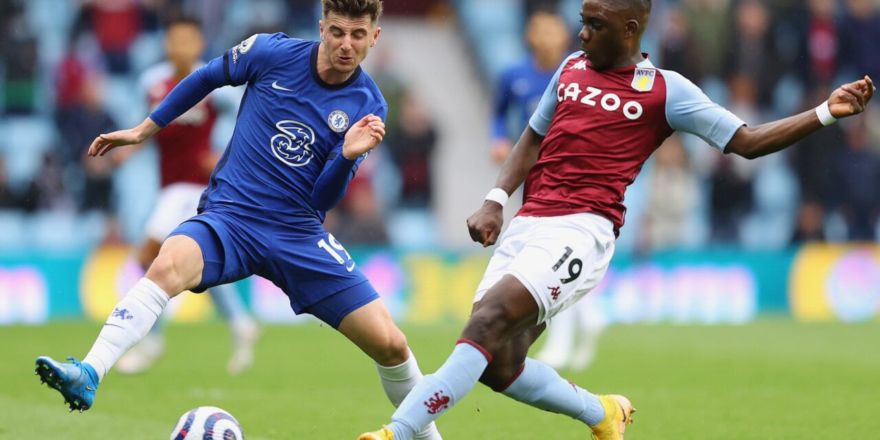 Nakamba all over the place on his 50th appearance for Villa