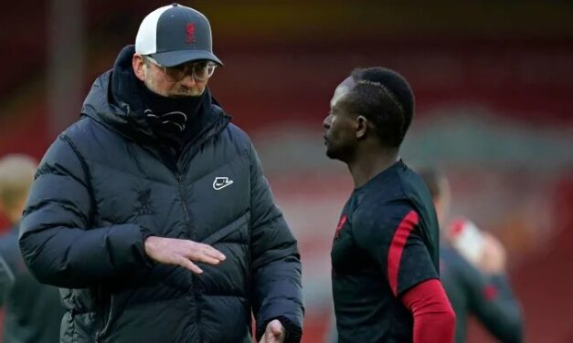 Klopp reveals how he will deal with Mane following Old Trafford incident