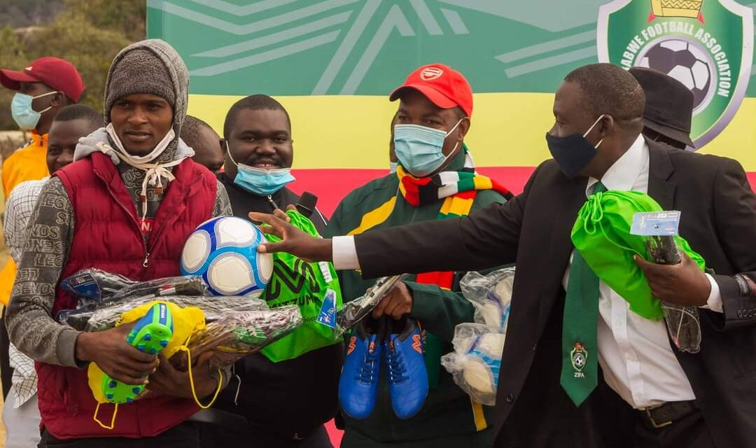 ZIFA continues with equipping rural communities initiative