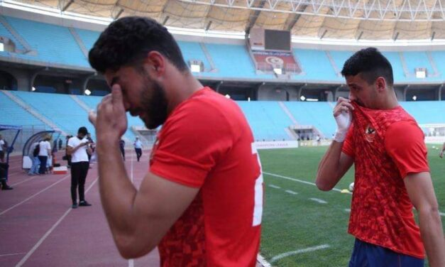 JUST IN: Suffocated Al Ahly players leave pitch before CL semi-final