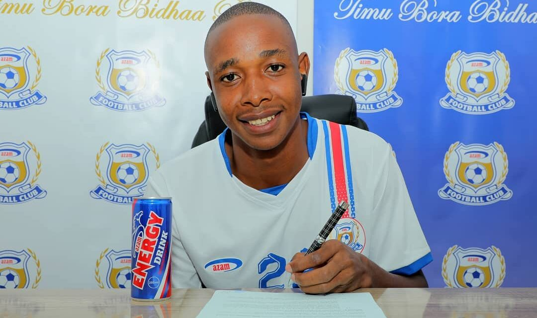 Breaking: Prince Dube signs new contract with Azam
