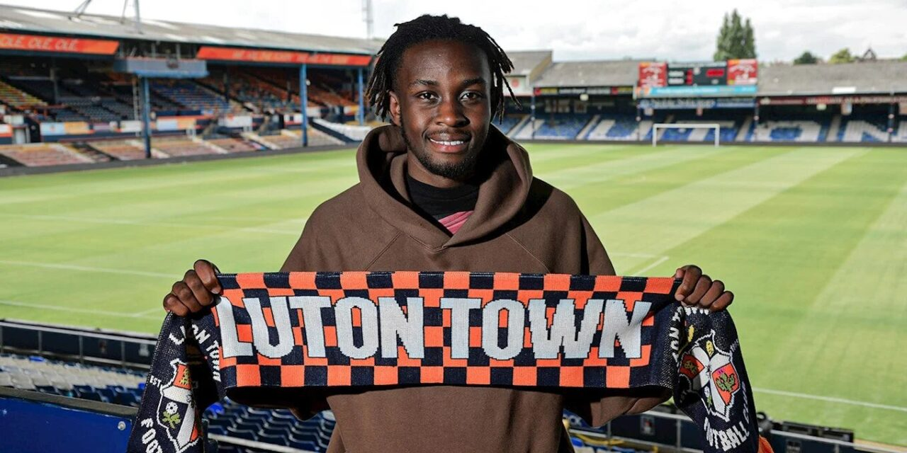 Admiral Muskwe reveals reason behind Luton Town move