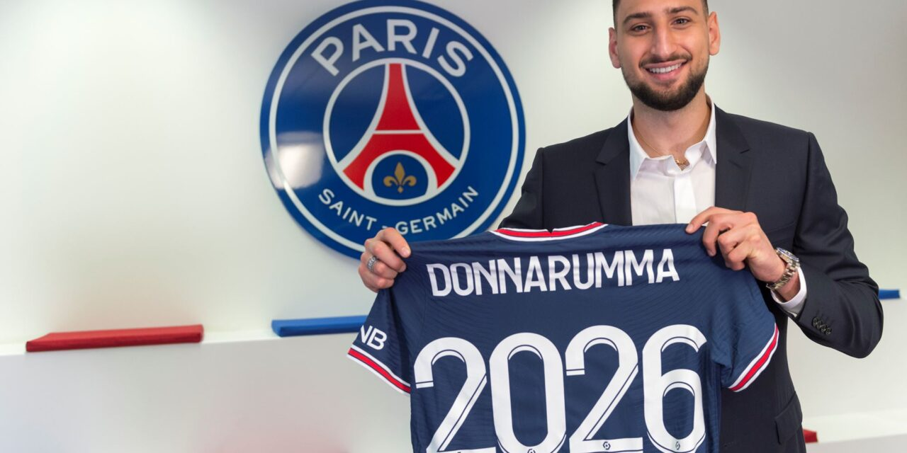 Official: Donnarumma joins PSG