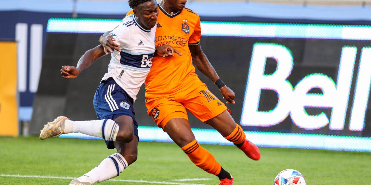 Hadebe impresses in Houston Dynamo debut