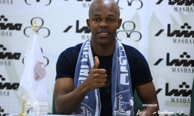 Knowledge Musona's jersey number at new club revealed