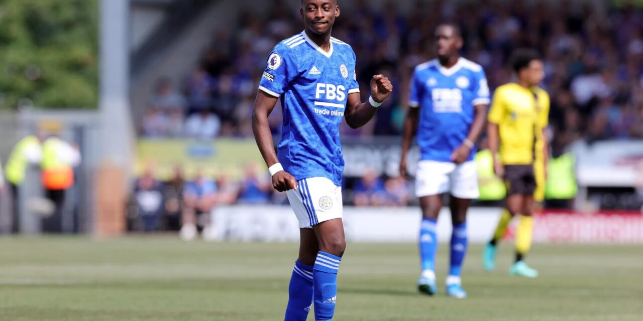 Maswanhise wins his first major individual honour at Leicester City