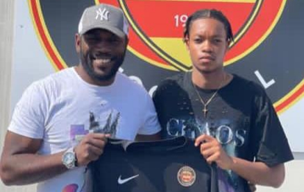 Pokello's son signs for French lower league side
