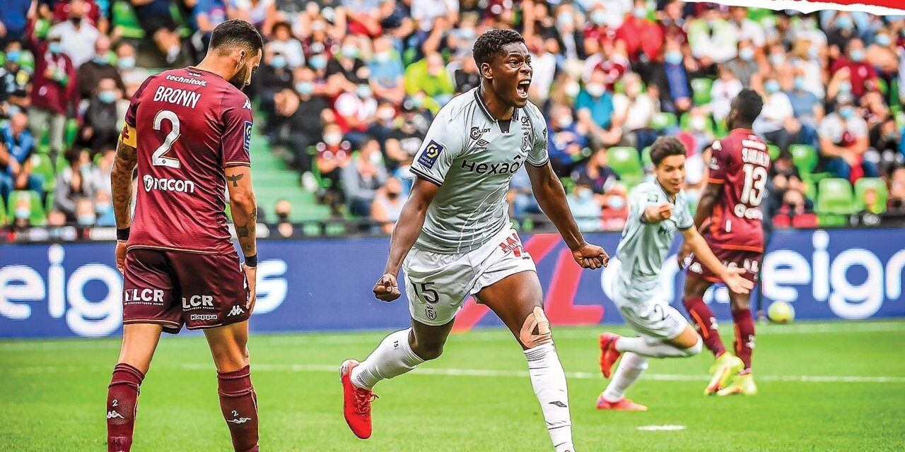 Video: Munetsi scores second ever French Ligue 1 goal