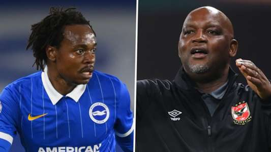 Percy Tau joining Al Ahly will not be a downgrade: Pitso
