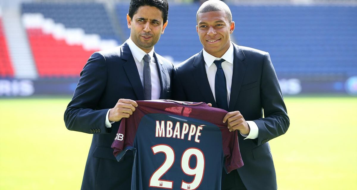PSG boss speaks on Mbappe future following Messi arrival at club