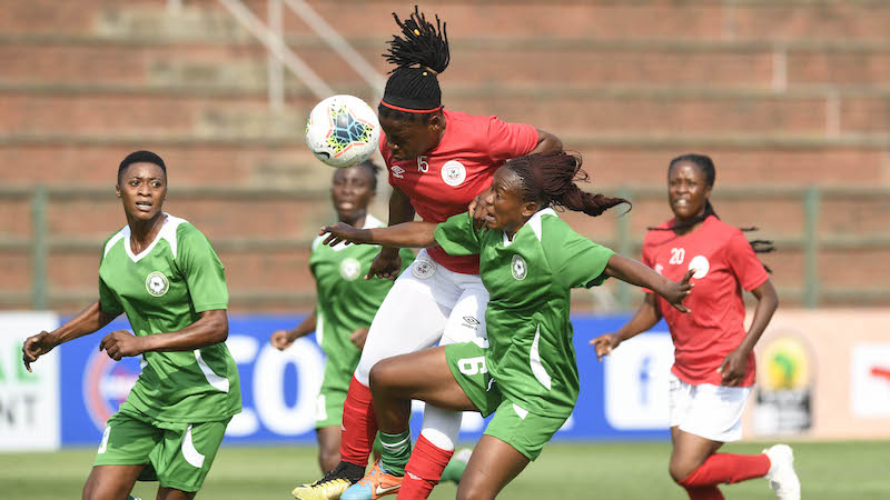 Black Rhinos Queens win first match at Women Champions League qualifying tourney
