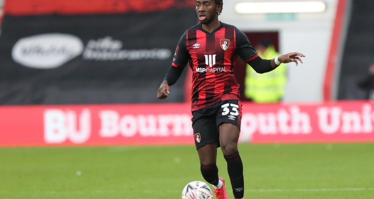 Brilliant Zemura voted Bournemouth Player of the Month