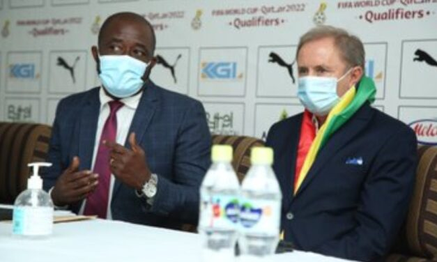 Ghana FA boss gives update on Black Stars preparations for Warriors games