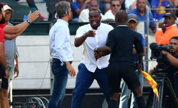 Why Benni McCarthy is casting a frustrated figure in the AmaZulu dugout