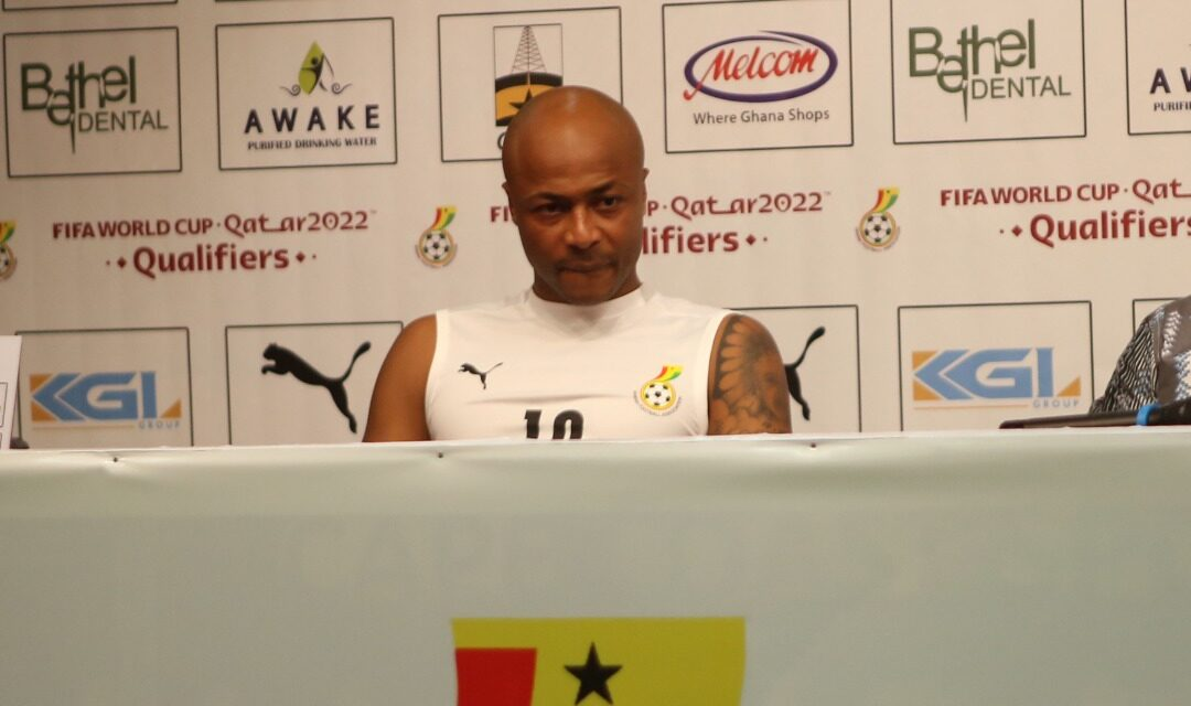 Andre Ayew reveals Ghana targets in Warriors match