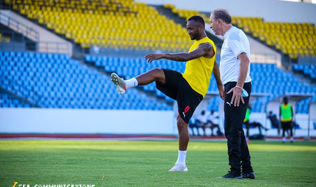 Black Stars gearing up for Warriors clash